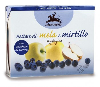 Nettare di Mela e Mirtillo Biologico